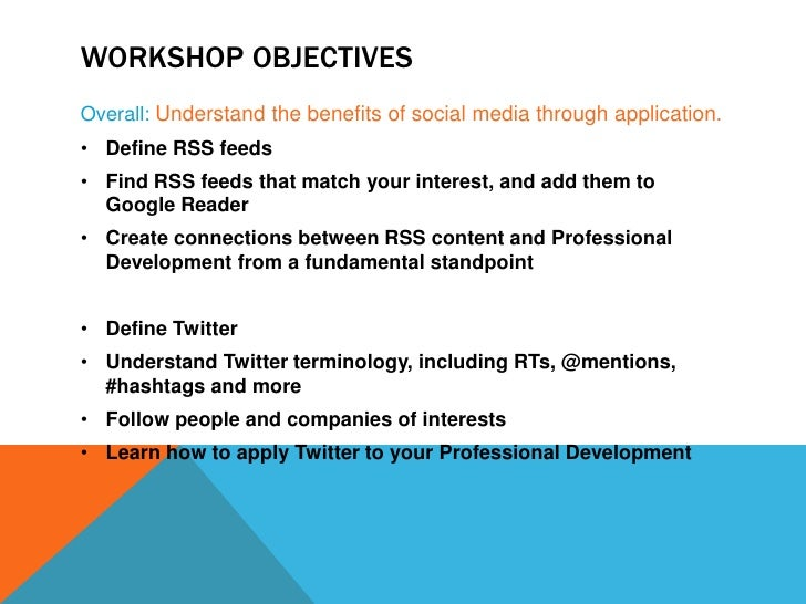 What the Tweet is an RSS Feed? Slide 3