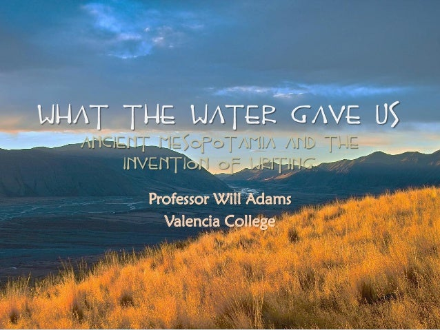 what the waters revealed essay What the waters revealed by jim wallis january 6, 2012 eng/215 dr sophie hsia what the water's revealed by jim wallis what the water's revealed, an essay by jim.