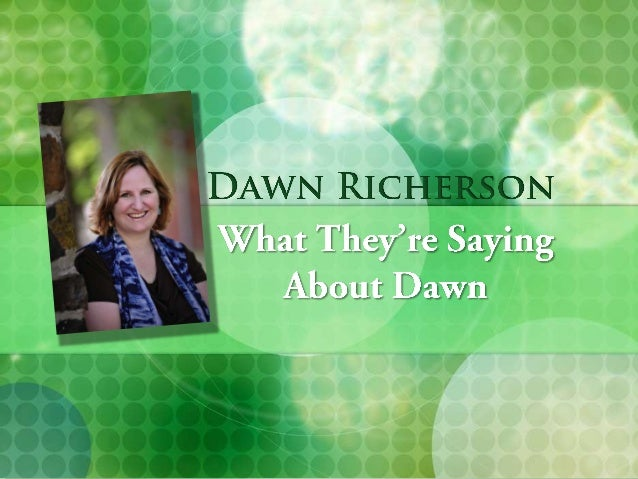 Marketing & New Media Projects        Ive been working with Dawn for        a number of years now. Ive always been        ...