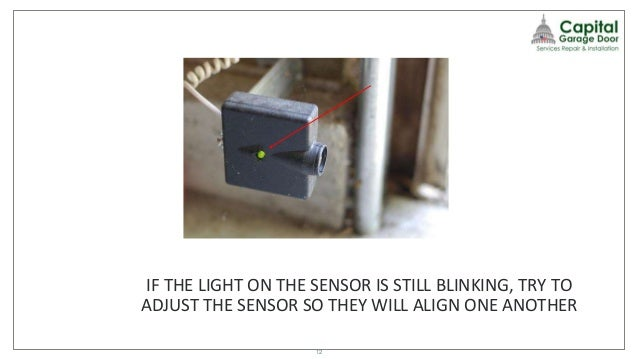 garage door sensor blinkingWhat To Do When Your Garage Door Wont Close