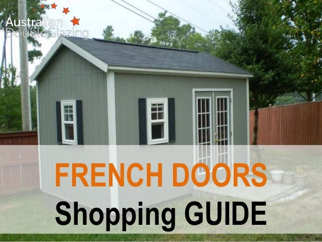FRENCH DOORS Shopping GUIDE