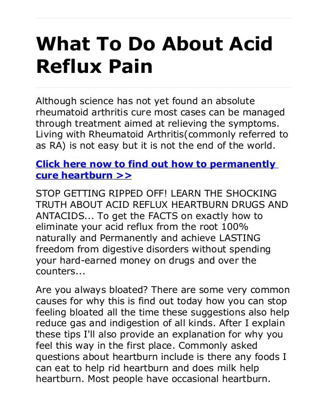 acid reflux not adults