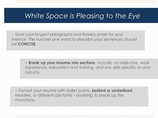 SlideShare  Visually Appealing Resume