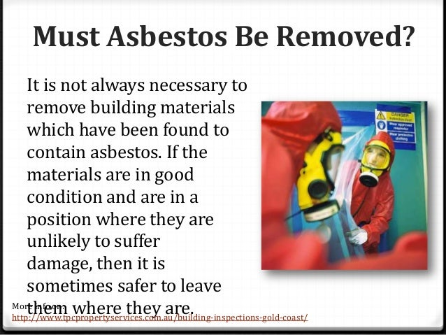 how to tell if building has asbestos