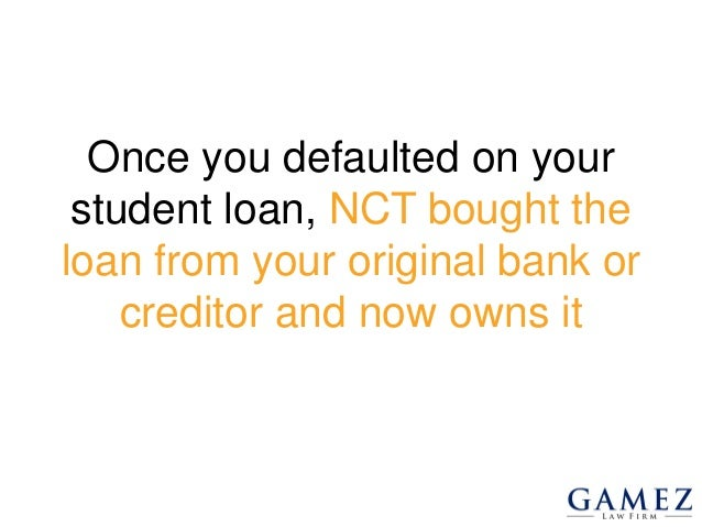 What To Do If Sued By National Collegiate Student Loan Trust - 웹