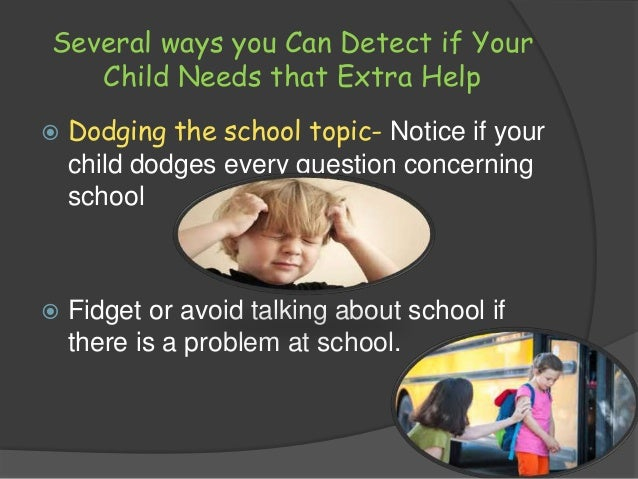 Keep your Child from falling behind in School