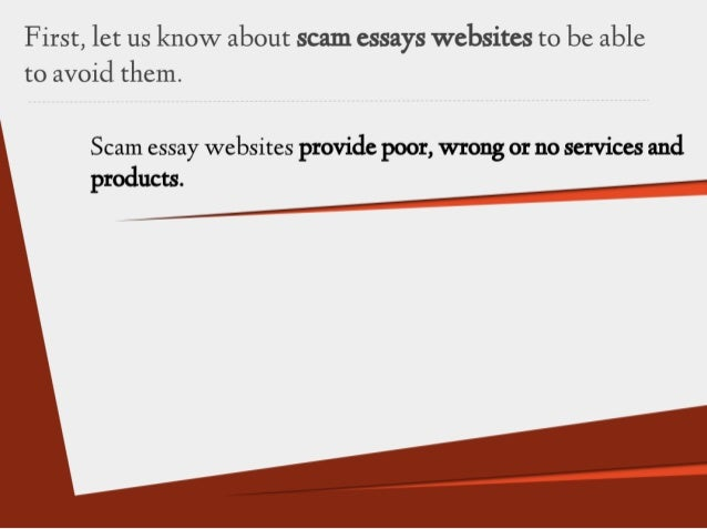 what to do when buying essay online 7 scam essay
