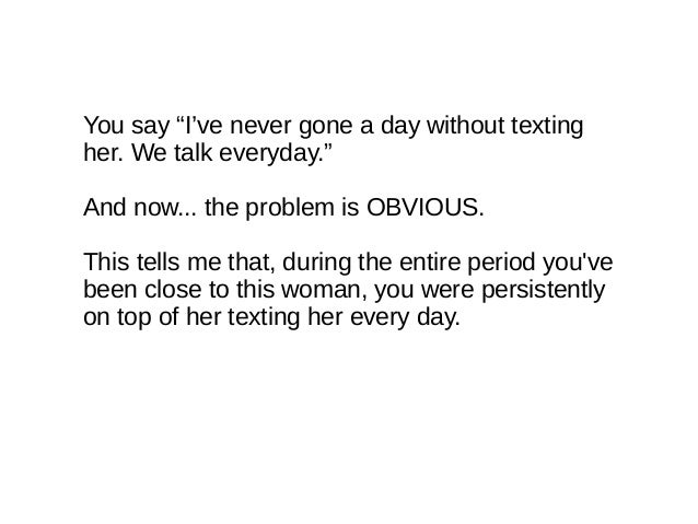 texting crush everyday