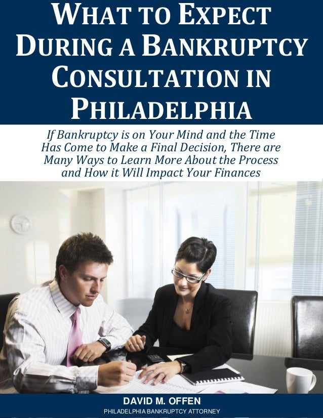 If Bankruptcy is on Your Mind and the Time Has Come to Make a Final Decision, There are Many Ways to Learn More About the ...