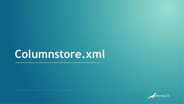 Columnstore.xml