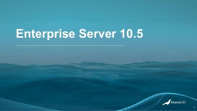 Enterprise Server 10.5 10