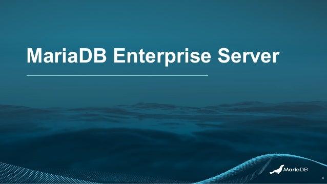 MariaDB Enterprise Server 8