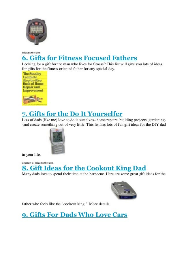 What To Get Your Dad For Christmas 2014