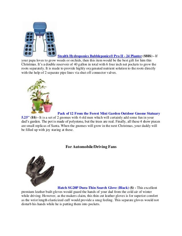 6 - What To Get Dad For Christmas 2014