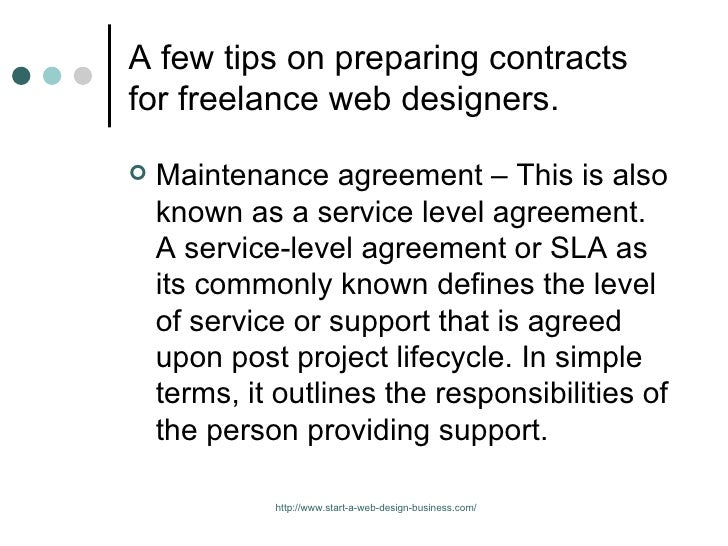 What To Include In A Website Contract