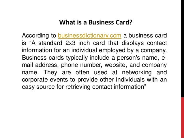 What to include in your business card business card 2 what is a colourmoves