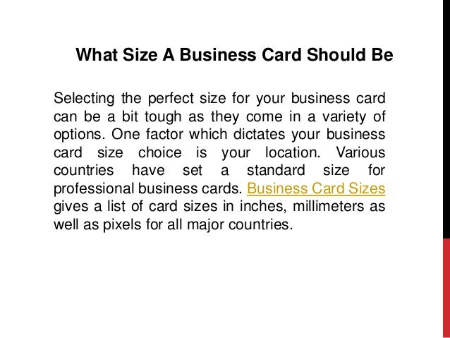 What to include in your business card what size a business card colourmoves