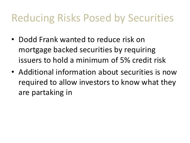 Mortgage Backed Securities Issuers