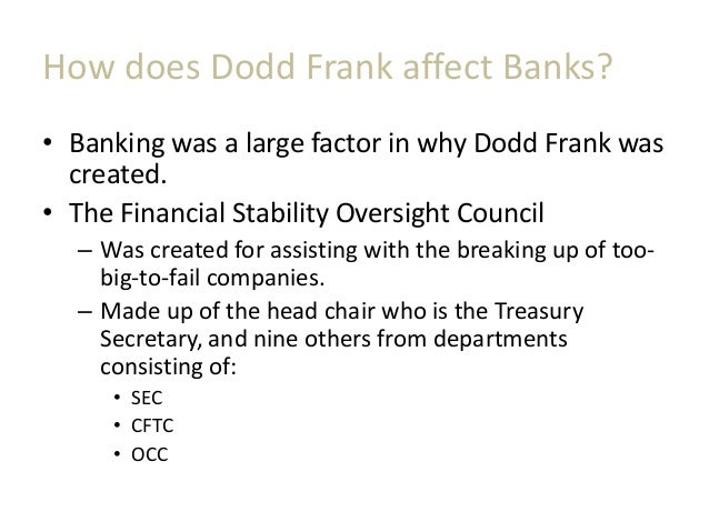 A Summary of the Dodd Frank Act and How it Affects Hedge Funds