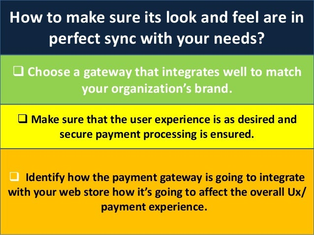 how to set payment gateway in website