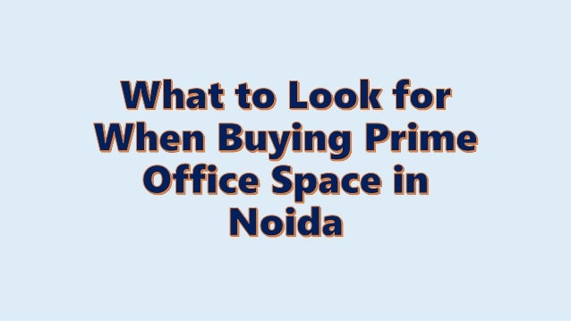 Introduction When you are looking for premium office space in Noida, you don't have to look too hard. Noida is a commercia...