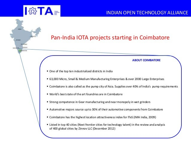 Indian Open Technology Alliance Impact Projects