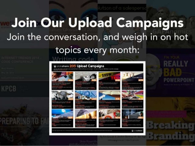 Join Our Upload Campaigns Join the conversation,  and weigh in on hot topics every month:   6; w 1 -share 20I5 Lblood Cunp...