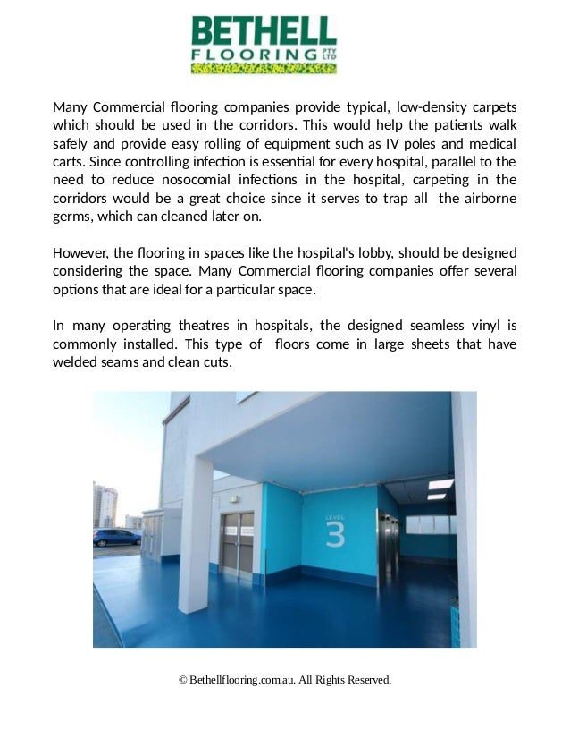 3. Many Commercial Flooring Companies ...