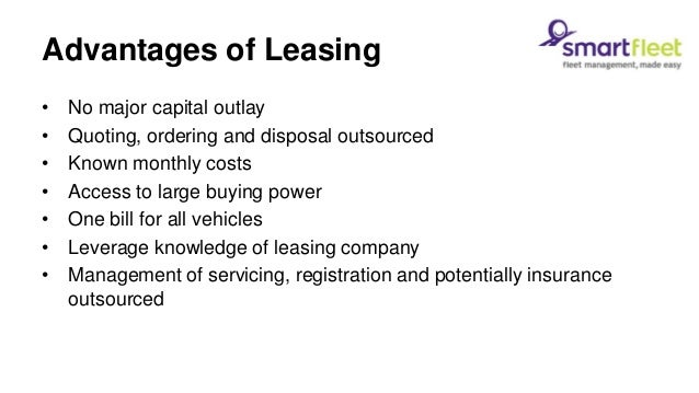 What Type Of Lease Is Right For Your Organisation
