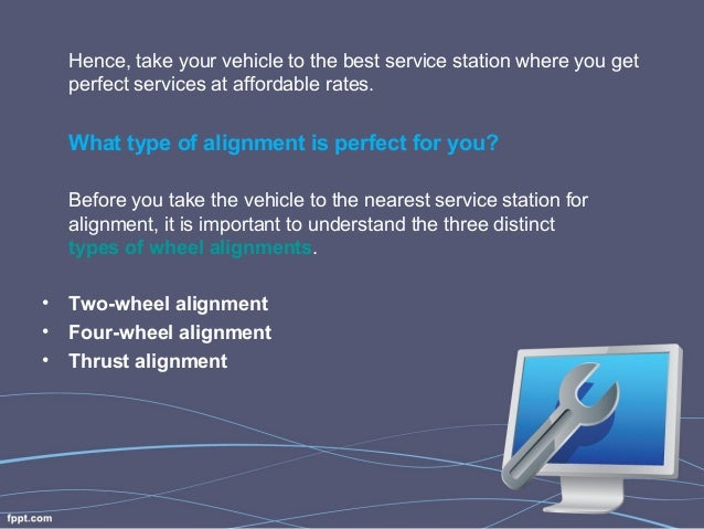 Nearest Service Station >> What Type Of Wheel Alignment Is Best For My Vehicle