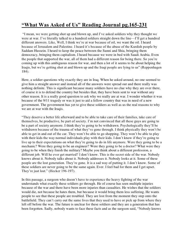 "HYPERLINK "" http://nicoletorralba.wordpress.com/2010/04/13/%e2%80%9cwhat-was-asked-of-us%e2%80%9d-reading-journal-pg-165-..."