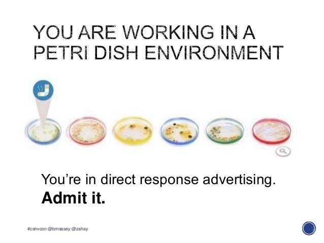 #convcon @bmassey @zahayYou're in direct response advertising.Admit it.