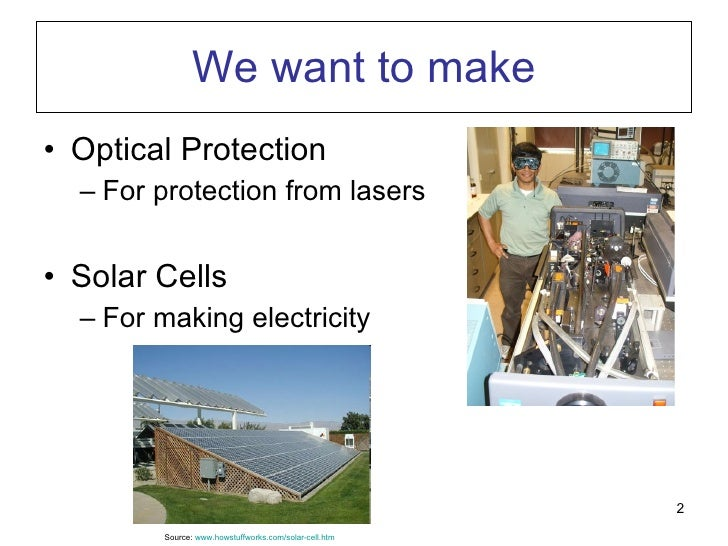 What We Do In My Lab Slide 2