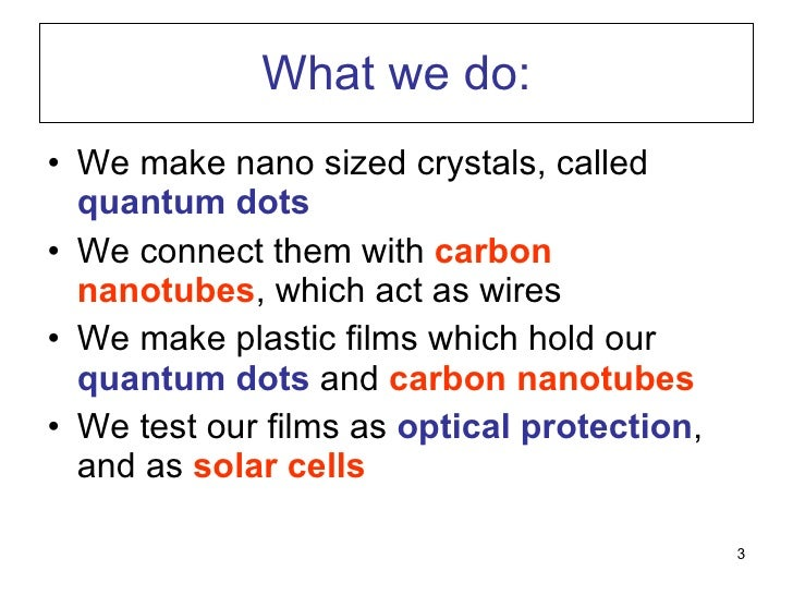 What We Do In My Lab Slide 3