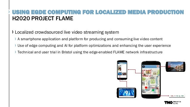 Localized crowdsourced live video streaming system A smartphone application and platform for producing and consuming live ...
