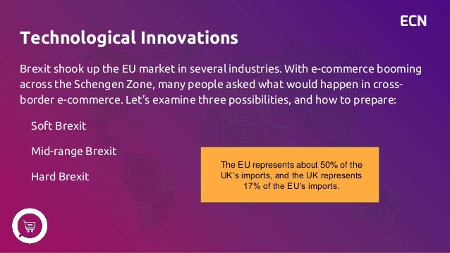 ECN Technological Innovations Brexit shook up the EU market in several industries. With e-commerce booming across the Sche...