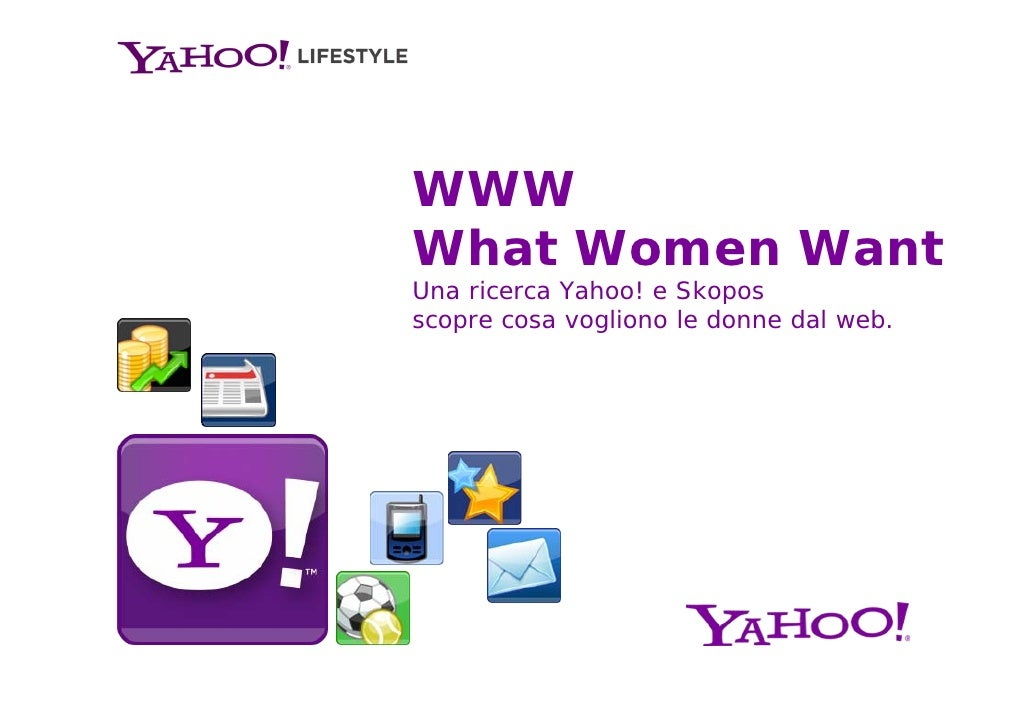 WWW - What women want