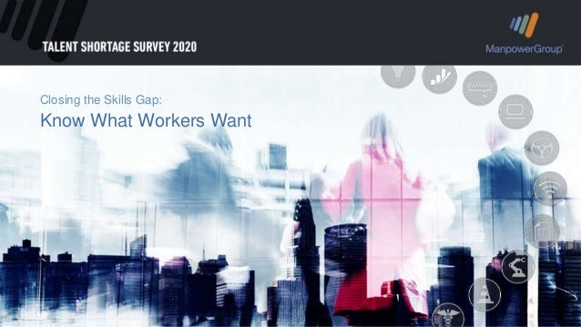 Know What Workers Want Closing the Skills Gap: