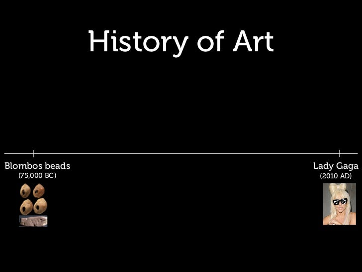 History of Art                                     Currency                                  (2000BC on)    Blombos beads ...