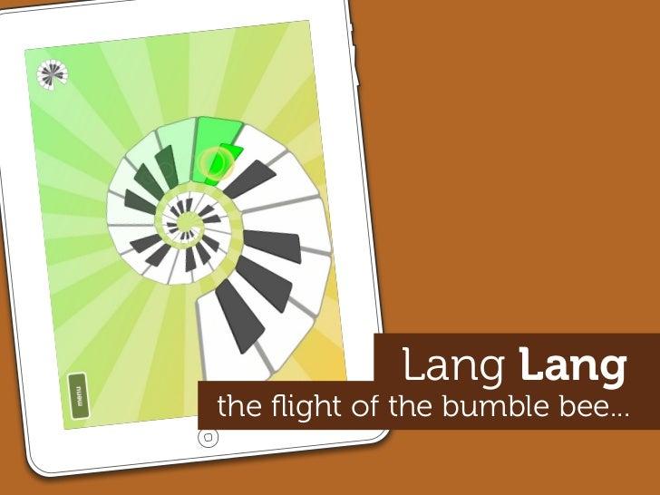 Lang Lang the flight of the bumble bee...