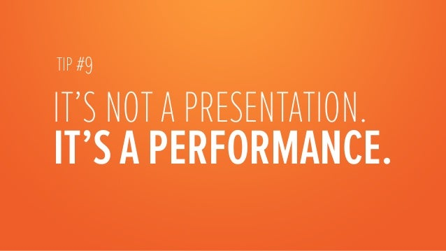 FOR YOUR NEXT 1-HOURPRESENTATION, PLAN ON: