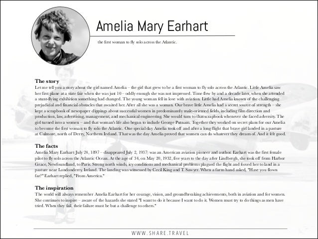12 Lessons from Amelia Earhart Everyone Can Benefit From Slide 2
