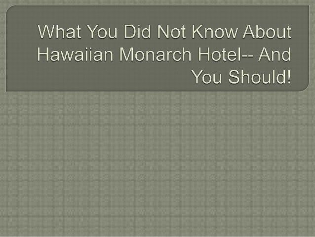   To start with, a glimpse of Hawaii history would shed more light into the rest of this article. Documentaries reveal th...