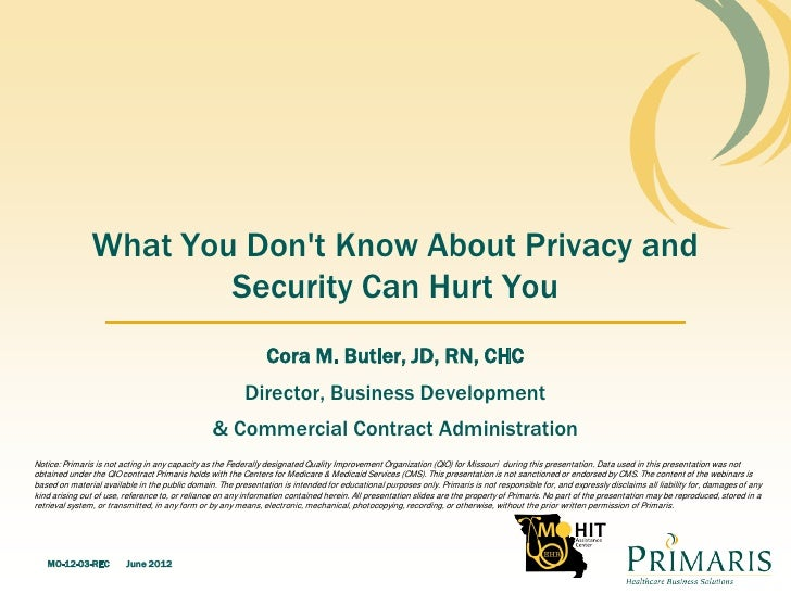 What You Dont Know About Privacy and                       Security Can Hurt You                                          ...