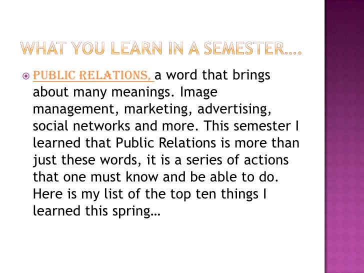 Relations, a word that brings  Public  about many meanings. Image  management, marketing, advertising,  social networks a...