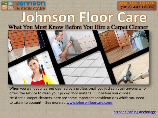 What You Must Know Before You Hire a Carpet Cleaner When you want your carpet cleaned by a professional, you just can't as...