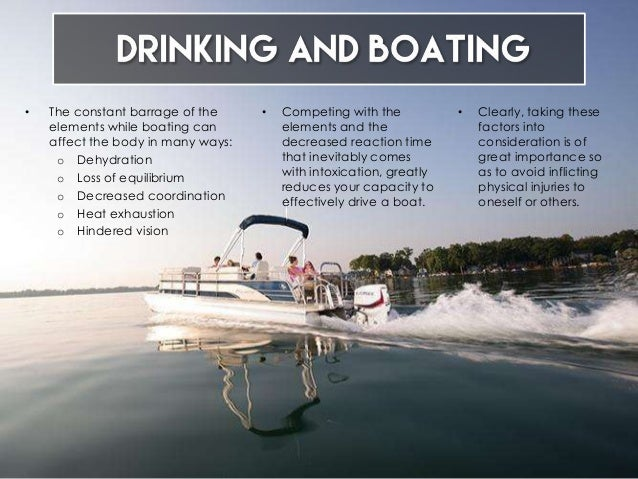 On Drinking Need About What Know You To Boats