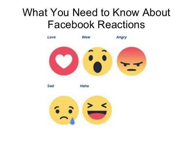 What You Need to Know About Facebook Reactions