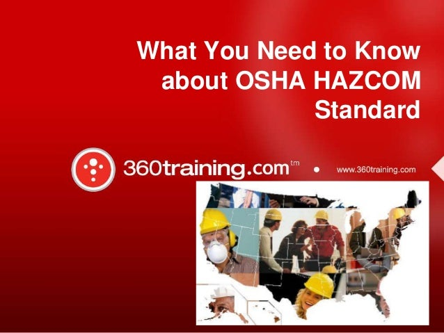 What You Need to Know about OSHA HAZCOM Standard
