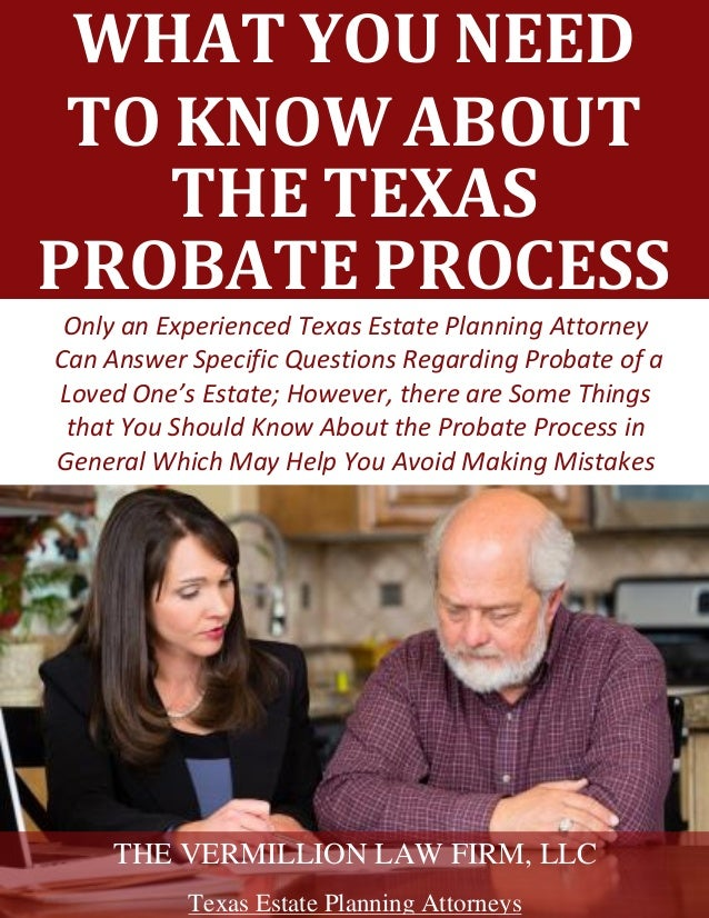 What You Need to Know About Texas Probate Process